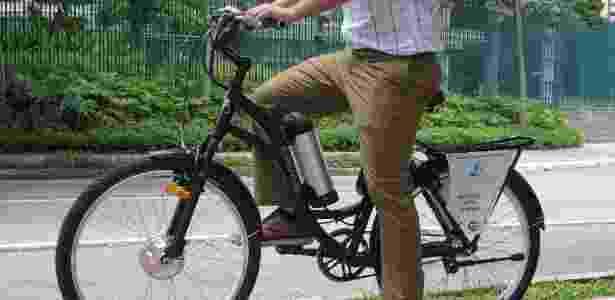 E-Moving, que aluga bikes elétricas, pode ajudar a combater congestionamentos  - Divulgação