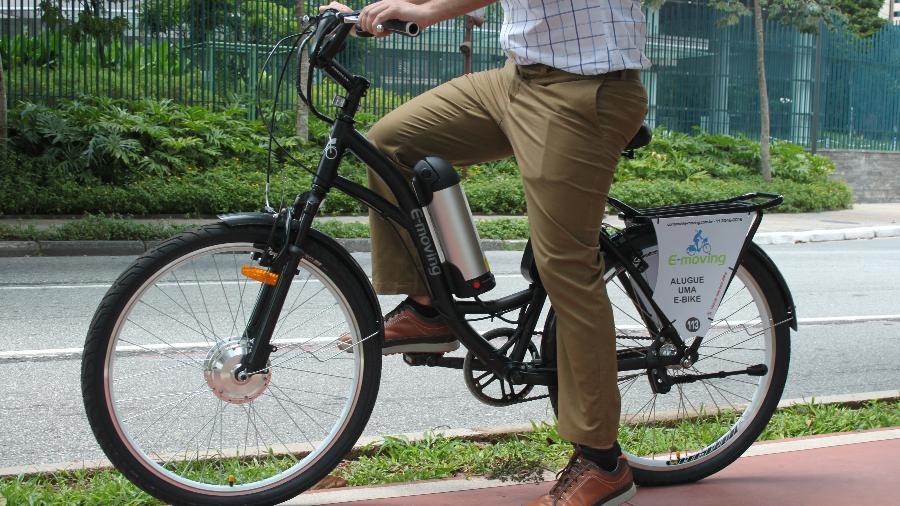 e-moving bike elétrica - Divulgação
