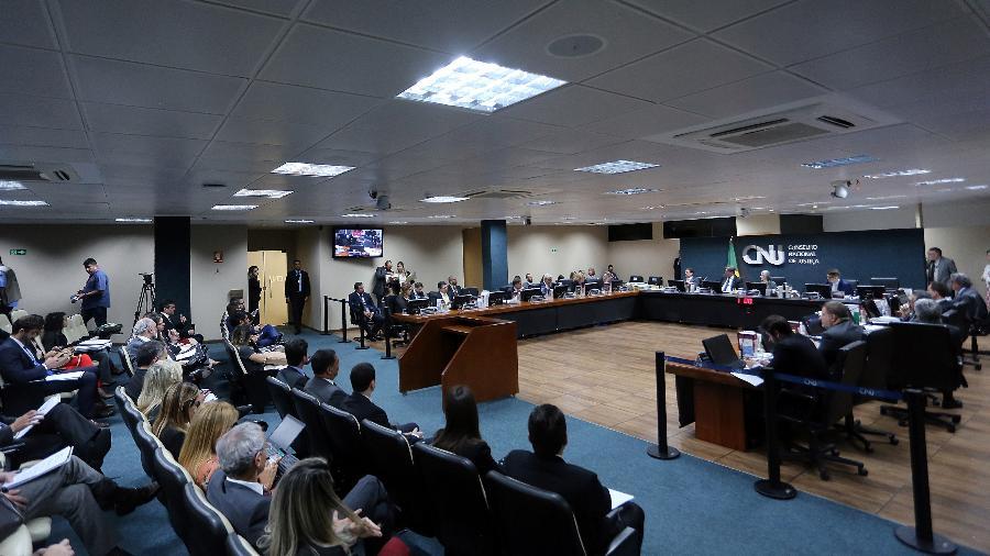 Sessão ordinária do Conselho Nacional de Justiça (imagem de arquivo) - Luiz Silveira/Agência CNJ