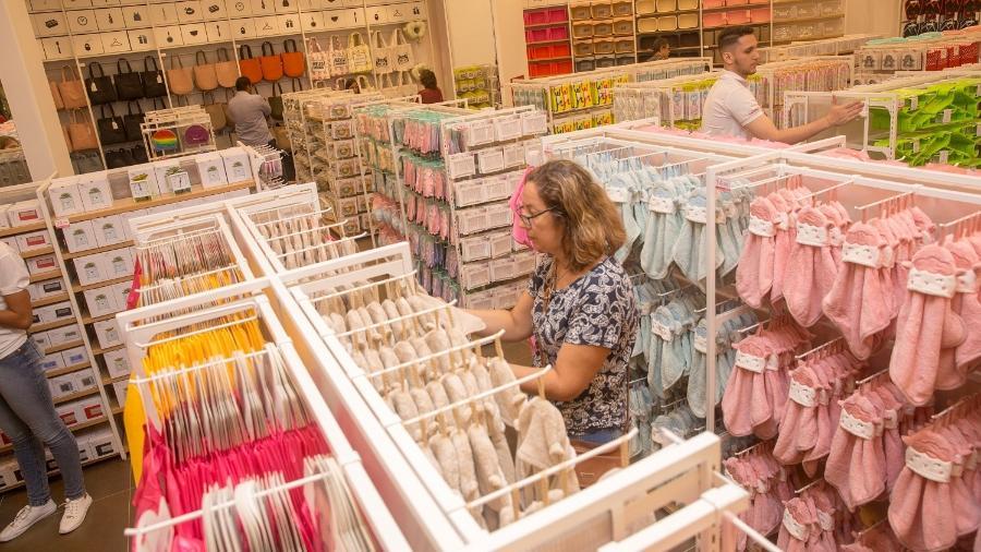 A rede japonesa Miniso tem 40 lojas no Brasil, seis são franquias - Divulgação