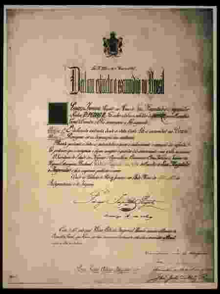 Lei Áurea excluiu uma série de dispositivos reivindicados pelos abolicionistas, entre eles a distribuição de terras aos alforriados - Acervo Biblioteca Nacional/BBC - Acervo Biblioteca Nacional/BBC