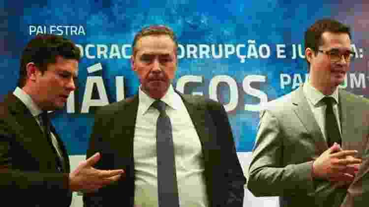 Moro e Dallagnol usavam o aplicativo do Telegram para conversar - José Cruz/Agência Brasil - José Cruz/Agência Brasil