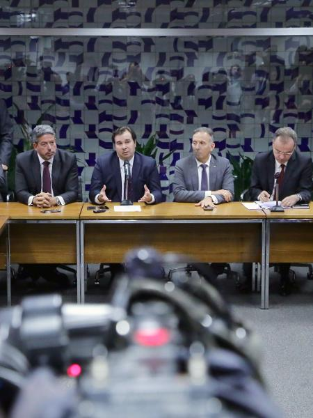 Coletiva de imprensa sobre a reforma da Previdência, nesta quarta (12) - Cleia Viana/Câmara dos Deputados