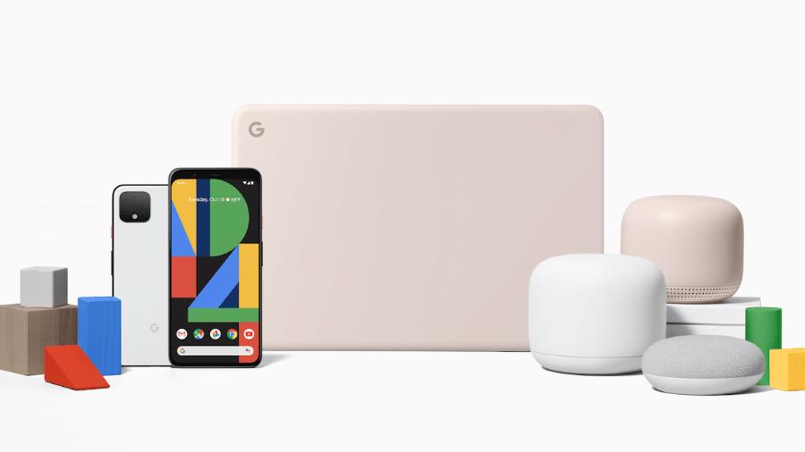 A nova família de produtos do Google, do celular ao roteador - Divulgação
