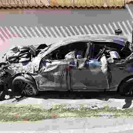 08.dez.2019 - Batida de carro deixa mortos no Rio - Reprodução