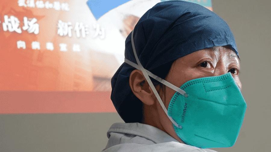 O médico chinês Zhou Qiong, que vai liderar a equipe que atuará na prevenção e tentativa de controle da epidemia do coronavírus na China - Xinhua/Cheng Min