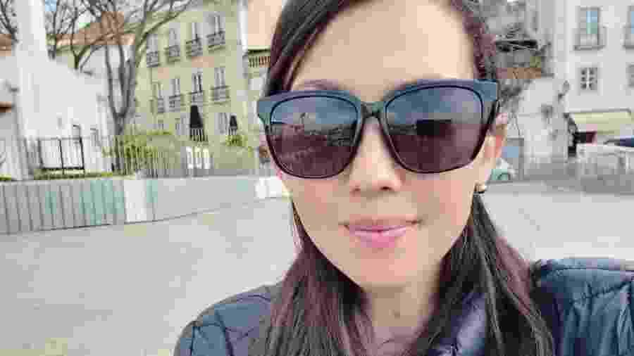 Indira Mara dos Santos, 34, está em quarentena em Anápolis - Arquivo pessoal