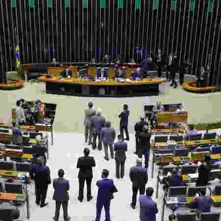 17.mar.2020 - Plenário da Câmara  - Michel Jesus/ Divulgação Câmara dos Deputados