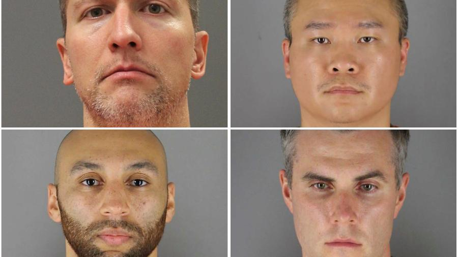 Ex-policiais de Mineápolis indiciados em caso George Floyd; vídeos mostram reação de testemunhas - HCSO