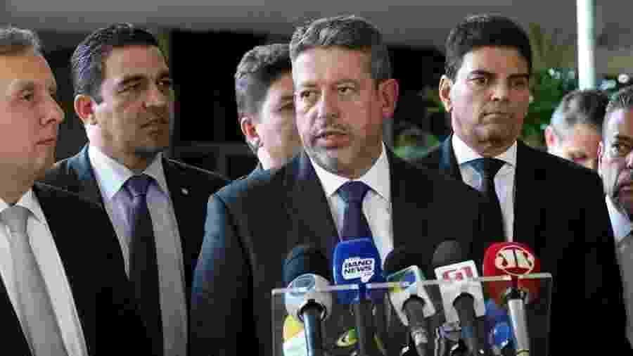 O deputado Arthur Lira (ao centro), do Progressistas-AL - Agência Brasil