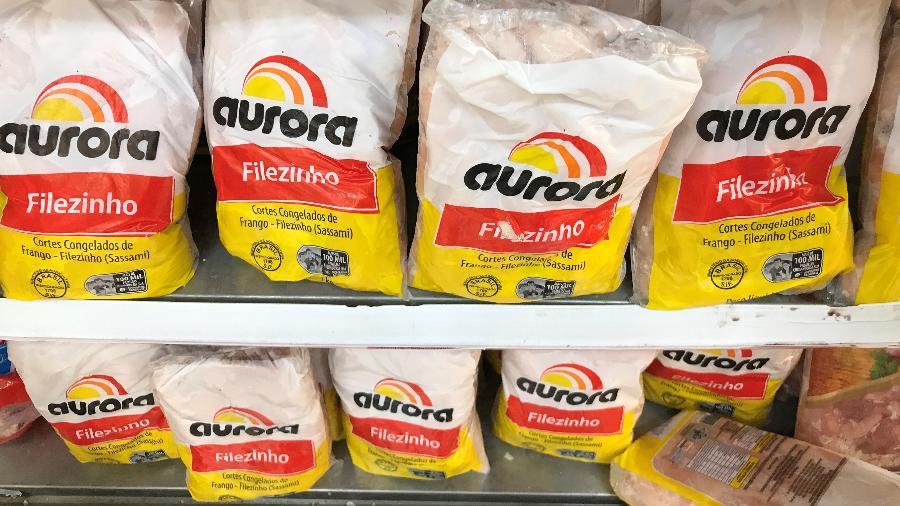 Há 12 dias, asas de frango enviadas pela Aurora a Shenzhen testaram positivo para coronavírus - Ricardo Moraes/Reuters