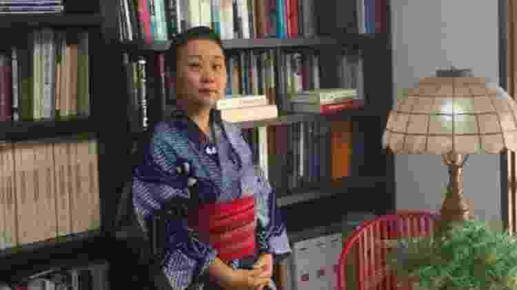 Mihoko Oka, professora da Universidade de Tóquio e especialista em história do Japão nos séculos 16 e 17 - Arquivo pessoal - Arquivo pessoal