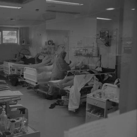 Hospital Regional São Paulo, em Xanxerê (SC), vive o drama da lotação - Divulgação/HRSP