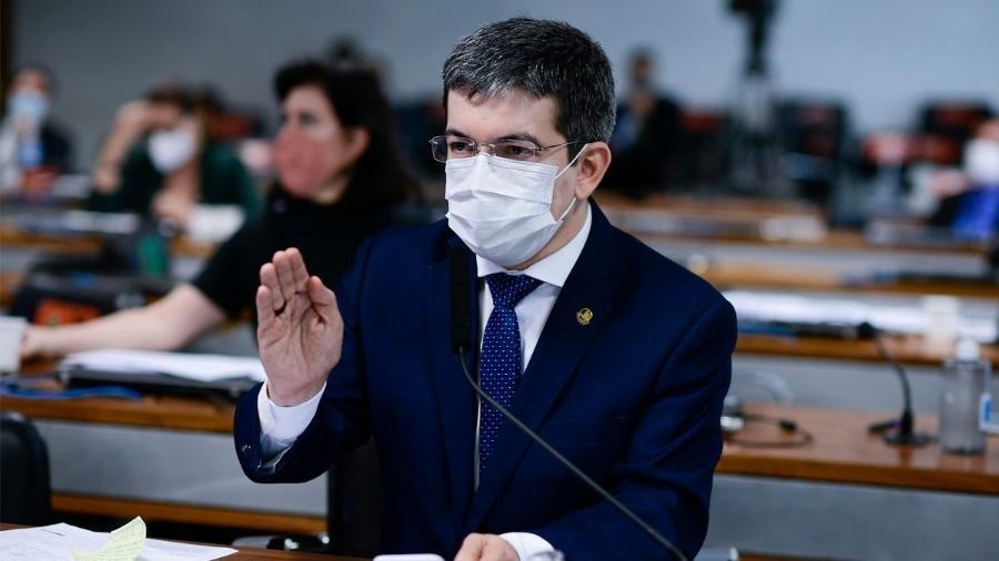 Senador Randolfe Rodrigues (Rede-AP) é vice-presidente da CPI da Covid  - PEDRO FRANÇA/AGÊNCIA SENADO