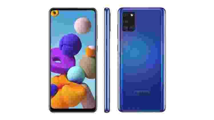 Galaxy A21s - Reprodução - Reprodução