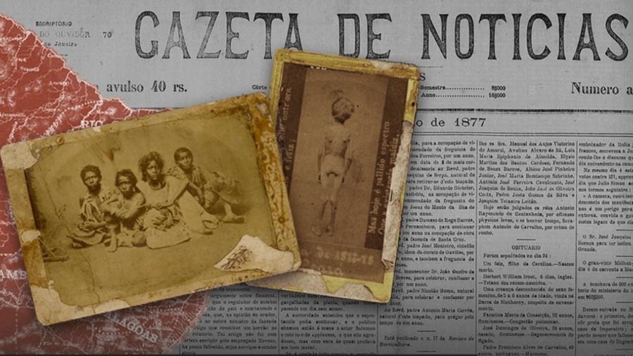 No Brasil, a falta de chuvas foi o primeiro capítulo de um flagelo que incluiu uma epidemia de varíola e matou pelo menos 500 mil pessoas entre 1877 e 1879 - BBC e Biblioteca Nacional