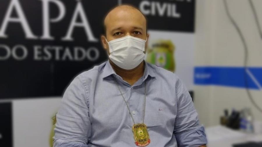 Delegado Ruben Neves Júnior autuou os dois professores denunciados - Polícia Civil do Amapá