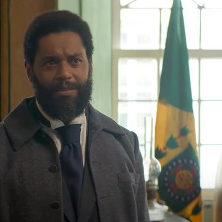 """César Mello no papel do advogado abolicionista Luiz Gama no filme """"Doutor Gama"""" (2021), de Jeferson De - Reprodução"""