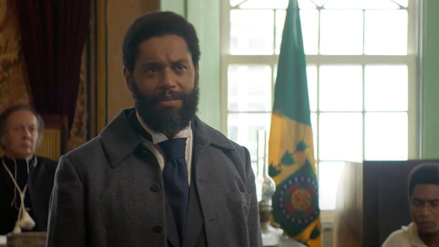 """César Mello no papel do advogado abolicionista Luís Gama no filme """"Doutor Gama"""" (2021), de Jeferson De - Reprodução"""