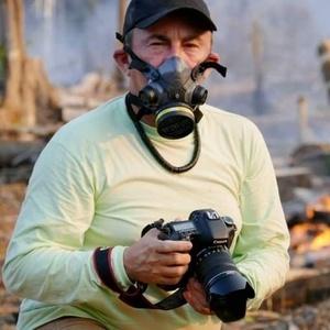 O fotógrafo Edmar Barros - Arquivo pessoal/Edmar Barros