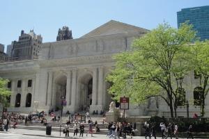 Fachada da Bilbioteca Pública de Nova York