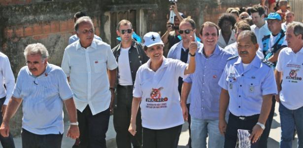 Dilma Rousseff acompanha as ações do Dia Nacional de Mobilização Zika Zero