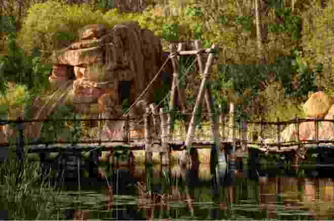 Os parques abandonados que 'a Disney não quer que você veja' - Seph Lawless/BBC