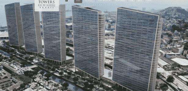 Site da Trump Organization diz que construção das duas primeiras torres começaria em 2015, o que não ocorreu - Divulgação - Divulgação