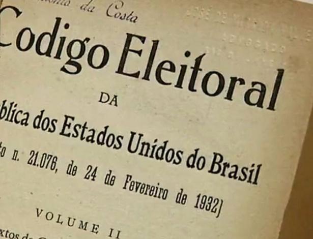 O Código Eleitoral de 1932 previa a eleição em dois turnos para a escolha de deputados