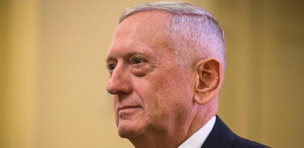 James Mattis, a escolha do presidente eleito Donald Trump para a Defesa, em Washington