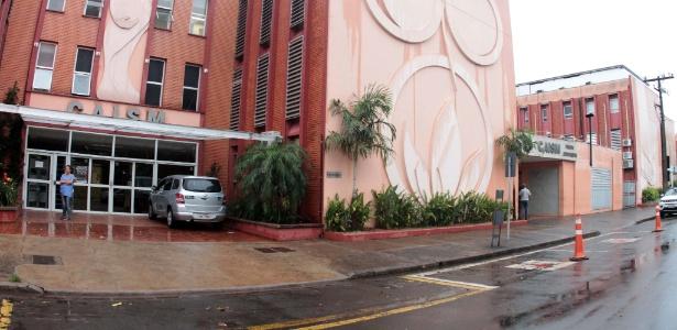 Chuva alaga setores do Centro de Atenção Integral à Saúde da Mulher em Campinas - Denny Cesare/Estadão Conteúdo