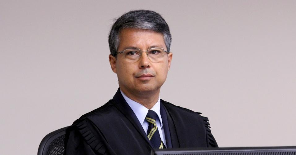 Victor Luiz dos Santos Laus, desembargador da 8ª Turma do Tribunal Regional Federal da 4ª Região, durante julgamento do ex-presidente Lula em Porto Alegre