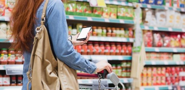Celular pode te ajudar cada vez mais em um supermercado