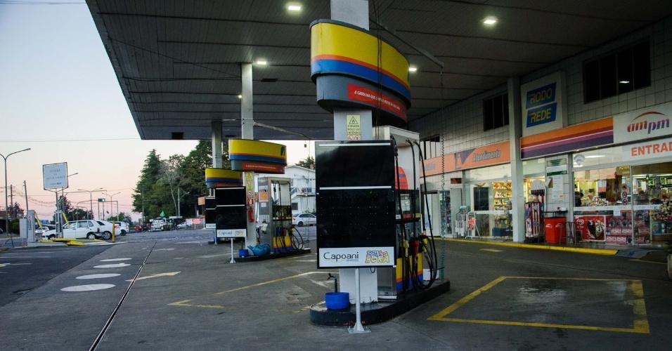 25.05.2018 - Posto de combustível fechado em Caxias do Sul (RS)