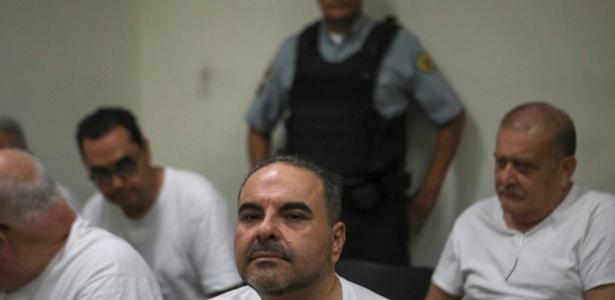 Tony Saca, empresário ex-presidente de El Salvador, na prisão desde janeiro de 2017, acusado de desviar recursos públicos para contas pessoais - Jose Cabezas / REUTERS