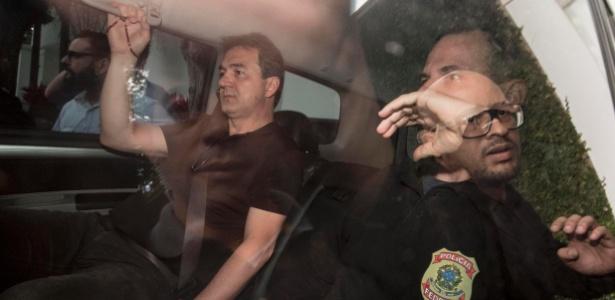 9.nov.2018 - Joesley Batista é preso na manhã desta sexta-feira