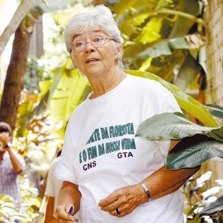 Missionária norte-americana Dorothy Stang foi morta em 2005, em Anapu (PA) - Divulgação/Carlos Silva
