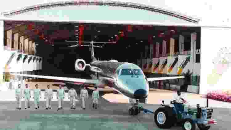 ERJ 145 - Divulgação/Embraer - Divulgação/Embraer