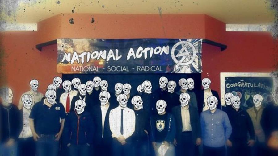 O Ação Nacional foi banido especialmente por sua glorificação do terrorismo e da violência extrema - Reprodução