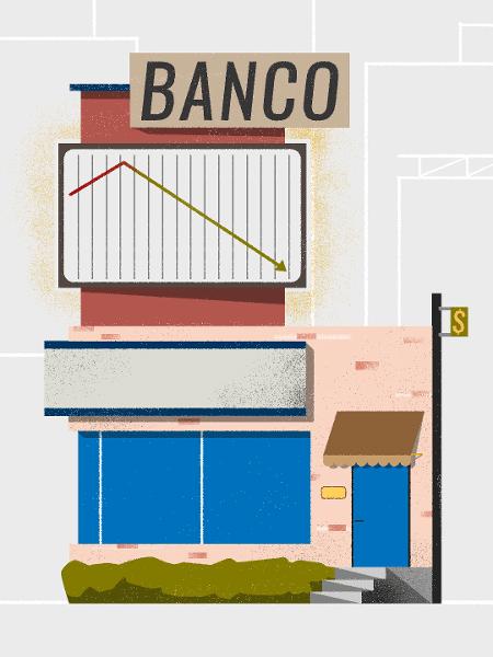 Bancos oferecerão descontos para clientes quitarem dívidas  - Arte/UOL