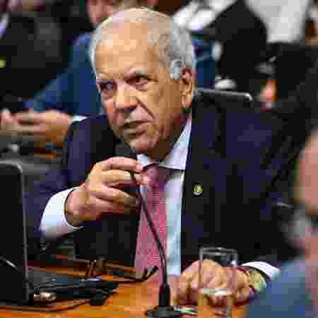 Senador Oriovisto Guimarães (Podemos-PR) durante sessão da CCJ do Senado - Marcos Oliveira/Agência Senado