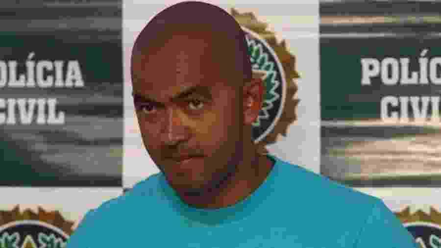 Mica, chefe do Comando Vermelho, foi preso em fevereiro de 2012 - Divulgação/PC-RJ