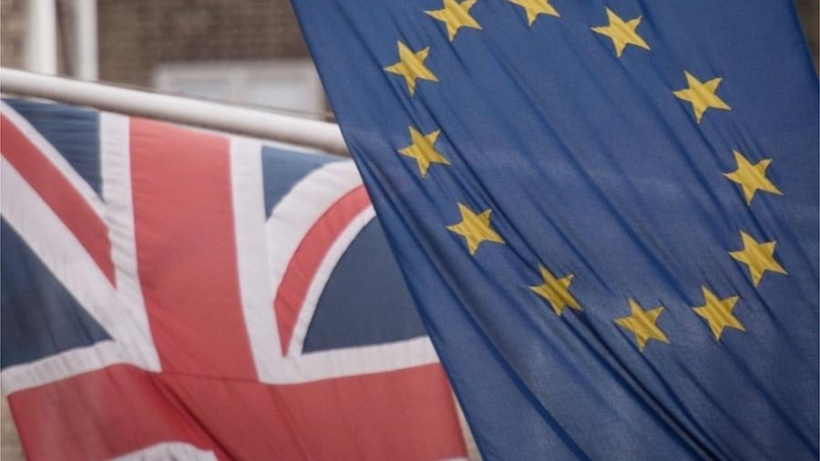 Diante da escassez de mão de obra após o Brexit, peru de Natal é ameaçado no Reino Unido - PA Media via BBC