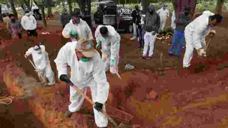 Número de mortes de covid-19 serve de base para modelos calcularem casos totais - Reuters - Reuters