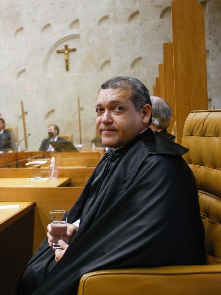 Kassio Nunes Marques em sua posse como ministro do STF - Nelson Jr / STF
