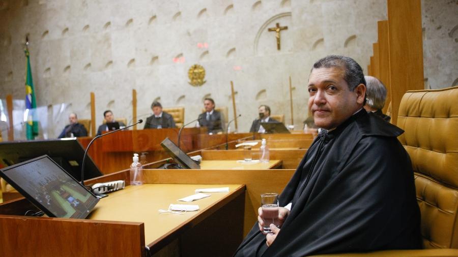Kassio Nunes Marques em sua posse como ministro do STF, - Nelson Jr / STF