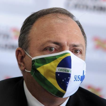 5.mar.2021 - Ex-ministro da Saúde, Eduardo Pazuello - Tarla Wolski/Futura Press/Estadão Conteúdo