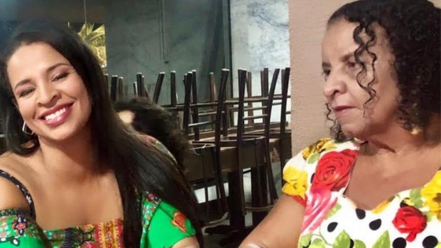 Filha caçula de Maria, Sandra diz estar indignada até hoje com declarações de Bolsonaro sobre a morte de sua mãe - Arquivo pessoal