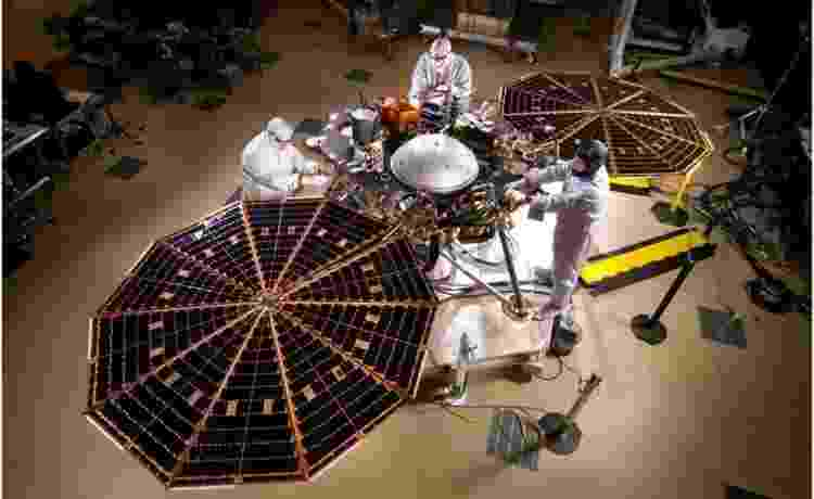 sonda insight - Nasa/JPL-Caltech/Lockheed Martin - Nasa/JPL-Caltech/Lockheed Martin
