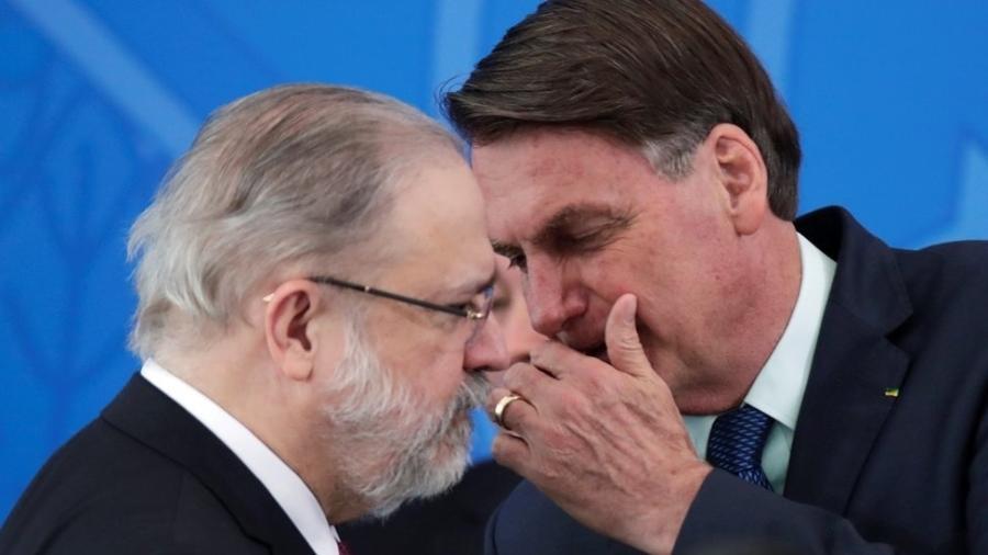 Apesar de ser visto como aliado de Bolsonaro, Aras deve ser rconduzido na PGR - Reuters